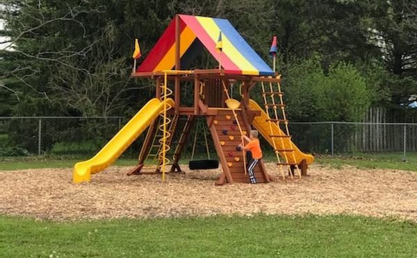 Stone Bank Park new playground